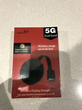 Yehua Wifi Display Dongle Hdmi Adapter Receiver Streaming Media Player Share Vid