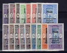 TOGO  n° 84/100 neuf avec charnière