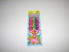 VTG Lisa Frank Easter Colorful Rainbow Foil Pencils Pack of 8 New MIP Lamb Bunny