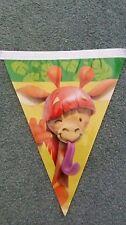 X2 Packs Fun Jungle Animal Flag Bunting *