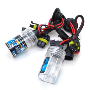 35w H8 HID Metal Base Replacment Bulbs AC Xenon 3k 43k 6k 8k 10k 12k
