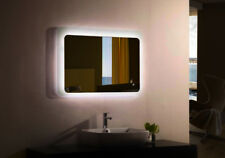 "Bathroom Mirror LED - Moderno Backlit LED Bathroom Vanity Mirror 39.4"" x 27.6"""