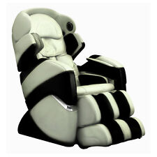 Cream Osaki Pro Cyber Zero Gravity Massage Chair Recliner + 4 Year Warranty