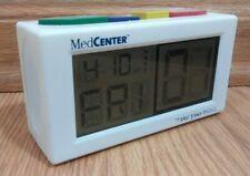 MedCenter System  Talking Clock Pill  Medicine Electronic Reminder Pre Owned fs