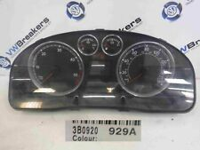 Volkswagen Passat 2001-2005 B5.5 Instrument Panel Dials Gauges Clocks 200K