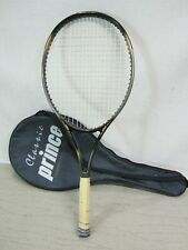 New listing Prince Graphite Pro XL Oversize Classic  Tennis Racquet 4 3/8 grip w/Carry Bag
