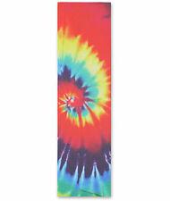 """Grizzly 33"""" x 9"""" Tie Dye Skateboard Grip Tape"""