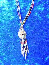 schöne Halskette mit Anhänger (kollier) 925ilber__mit Steinen_!