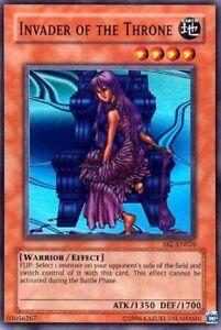 1x Invader of the Throne - SRL-EN026 - Super Rare - Unlimited Edition SRL - Spel
