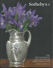 SOTHEBY'S American Silver Iris Schwartz Collection Auction Catalog 2017