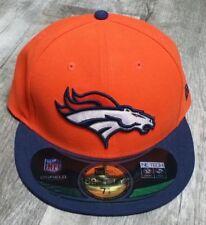Denver Broncos New Era 59 Fifty NFL En Gorro ajustada de campo TNM TAMAÑO 7  1 2 33fdb731d60