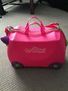 Trunki Suitcase Pink And Purple. Very Good Condition