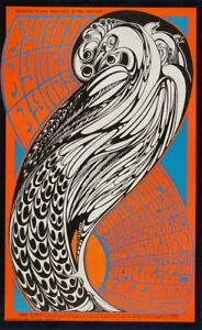 BYRDS  Moby Grape Andrew Staples Fillmore Winterland Concert Handbill Card 1967