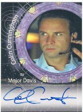 Stargate SG-1 Season 4 Autograph A17 Colin Cunningham as Major Davis