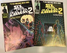 SIX FROM SIRIUS 2, #1-2, VF/NM, Epic Comics Lot, 2 Comics,1984