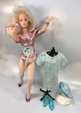 Jem and the Holograms JEM/JERRICA doll vintage Hasbro *Working Earrings