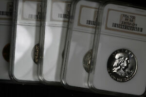 Gorgeous PF68 1954 Proof Set!!!   NGC PF68 Coins!