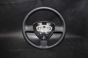 ORIGINAL LENKRAD LEDERLENKRAD VW POLO 6Q NEU BEZOGEN V49