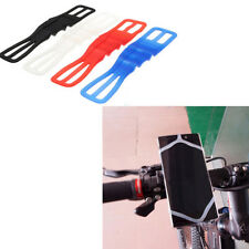 Elastico Silicone Bici Universale Bike Mount Holder Motorcycle Mobile Phone gy