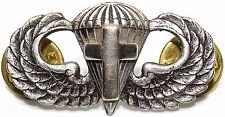 Airborne Chaplain Jump Wing Badge US Army Parachutist Cross Insignia Pin