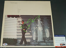 BOZ SCAGGS Signed DOWN TWO THEN LEFT LP Record Green Ink Auto PSA/DNA Autograph