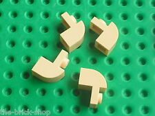 Tan Brick curved 6091 LEGO / set 10236 9516 9494 7965 8095 30052 10184 10236 ...