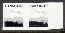 Canada #1356 XF/NH Imperf Essay Pair