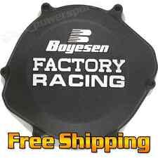 Boyesen Factory Clutch Cover BLACK - HONDA CR250R  CR 250R  02-07