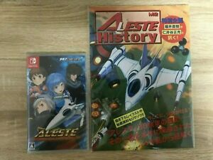 Aleste Collection Nintendo Switch Video Games Japanese & Booklet Tracking USED