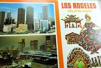 Los Angeles City of The Angels California USA Postcard 1970's