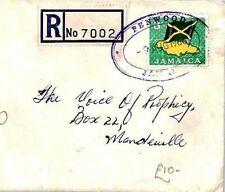 CS14 Jamaica *PENWOOD* TRD Registered Cover 1966 RELIGION RADIO{samwells-covers}