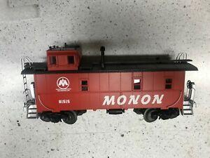 MTH 30-77283 Monon Special Run Offset Steel Caboose Car #81515  LN/Box