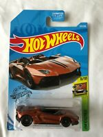 Hot Wheels Lamborghini Aventador J Super Treasure Hunt STH - Mint in UK