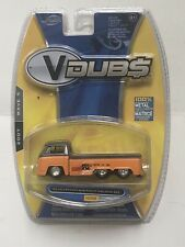 JADA VDUBS WAVE 5 #058 1963 VOLKSWAGEN VW BUS PICKUP W/SLIDING BED  1:64 @66