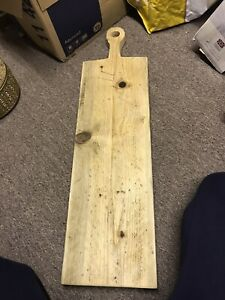 New Extra Large Rustic Cheese And Bread Board Cost £89