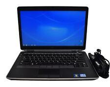 """Dell Latitude E6430s Laptop i5-3320M 2.6GHz 8GB RAM 250GB HD 14"""" LCD Win7 WebCam"""