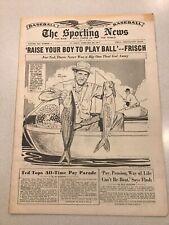1957 Sporting News 2/20/1957