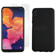 Slim Shockproof Case BLACK+LCD HD Screen Protector for Samsung Galaxy A10e