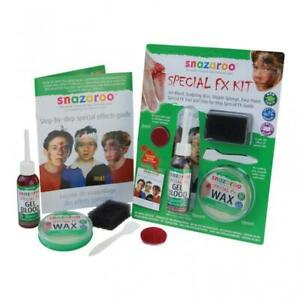 Snazaroo Special FX Face Paint & Horror Effects Kit