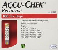 Accu-Chek Performa Blood 100 Test Strips Glucose Monitoring System