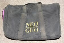 Neo Geo AES Pink/Black Carrying Case Official Padded RARE