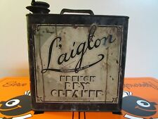 Vintage Very Rare Laiglon Dry Cleaner Can * 1933