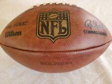 NFL Team Issued Miami Dolphins Wilson Duke Football