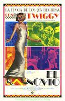 THE BOY FRIEND MOVIE POSTER 1971 TWIGGY Spanish Version PRETTY VERSION