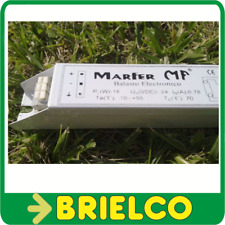 BALASTRO ELECTRONICO 24V 18W 0.78A PARA TUBOS FLUORESCENTES T8MM 60CM SOL BD6280