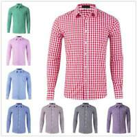 Slim Fit Luxury Dress Shirts T-Shirt Fashion Stylish Tops Men Long Sleeve Casual