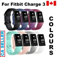 Silicone Diamond Bracelet Wrist Strap Replacement Band For Watch Fitbit Charge 3