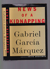 News of A Kidnapping (Medellin Cartel), G. Garcia Marquez, 1997 1st US ed HC wDJ
