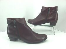 Spring Step Stockholm Cabernet Ankle Boots. Size (42)  10.5 to 11