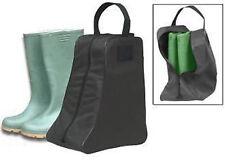 M33 New black nylon wellies wellington boot bag